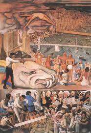 Diego Rivera Rockefeller Mural by Murals Communism Freemasonry And Prometheus