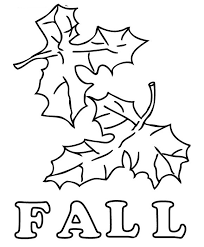 Fall Leaves Coloring Pages Kids 13 Two Page