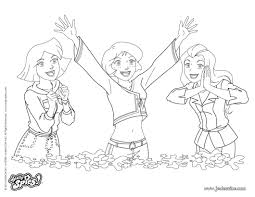Coloriage Sam En Robe De Soiree Totally Spies JeColoriecom