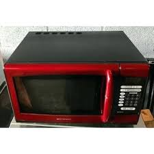 Emerson Red Microwave Household Oven Cu Ft Watt Touch Control En U