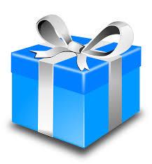 Present Gift Christmas Xmas Birthday Box Ribbon