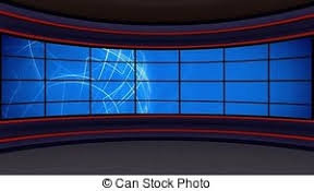 News TV Studio Set 297
