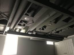 airless paint sprayer for ceilings spray paint basement ceiling ideas painted basement ceilings