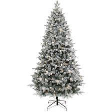 T2 739 Pre Lit Zuzu Flocked Christmas Tree