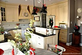 White Traditional Kitchen Design Ideas by Kitchen Design Captivating Awesome Christmas Home Tour Kitchen