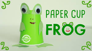 Paper Cup Frog