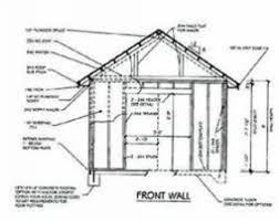 8x8 storage shed blueprints shed building blueprints