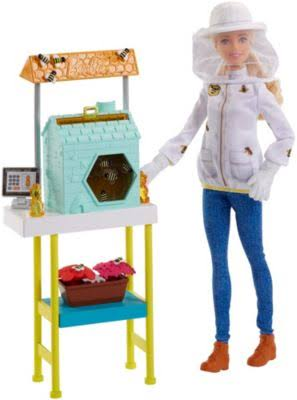 Barbie Careers Beekeeper Doll Playset