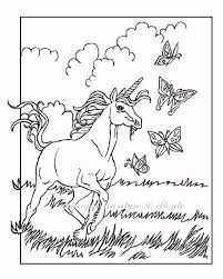 COLORING BOOK Of Five PAGESon 140 Lb Watercolor Paper Adult Childrens Coloring Pages Young Unicorns And Fairy Horse One Christmas