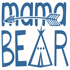 Bear Mama And Little Cuttable Designs