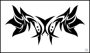 Tribal Shoulder Blades By MechanicalE