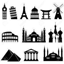 Travel Clipart Silhouette 4