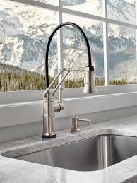 Articulating Kitchen Sink Faucet by A Kitchen Faucet That Works Hard And Looks Good Doing It