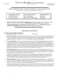 Accomplishment Resume Template 9