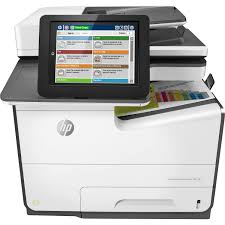 HP PageWide Enterprise 586f Page Wide Array Multifunction Printer
