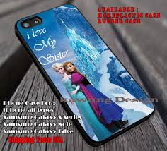 I Love My Sister Anna Elsa Disney Frozen case cover for iPhone