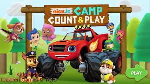 Nick Jr. Camp Count & Play Best Preschool Learning Cartoon Game ...