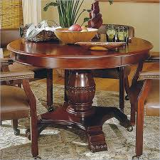 Perfect Cherry Wood Dining Table Steve Silver Company Tournament 48 Round Casual In Finish T B K I Chair