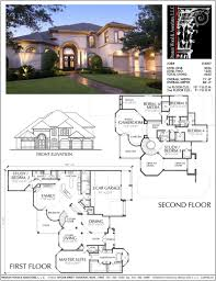 100 Picture Of Two Story House Plan D4007