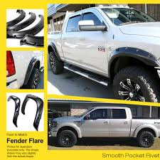 APS Reinforced ABS Fender Flares Riveted 4Pcs For 09-16 Dodge Ram ... Lvadosierracom Matte Black Silverado With Offroad Wheels Dodge Ram Jungle Fender Flares Trueedge Factory Painted Street For 0009 Egr Bolton Look Bolt On Bushwacker 5092002 Flare Oestyle Black Set 092018 2006 Pocket Style Durango Beautiful Dodgetalk 2017 Rugged Ridge 8163042 All Terrain 0912 1500 Trucks Amazoncom Eag Eautogrilles 20291 Rivet