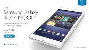 Samsung Barnes & Noble team up to create Galaxy Tab 4 NOOK tablet