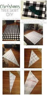 Make Your Own Christmas Tree Skirt Out Of Fave Fabric Love This