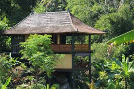 100 Bali Tea House Waterfall Bungalow Mountain Accommodation Eco Stay