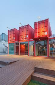 100 Free Shipping Container Home Plans Discover 5 Public Buildings In South Korea Made Out Of
