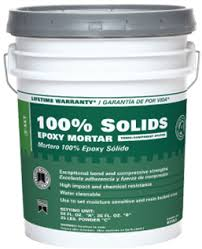 100 solids epoxy grout custom building products