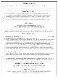Accountant Resume Examples Samples Accounting Template Free In Sample