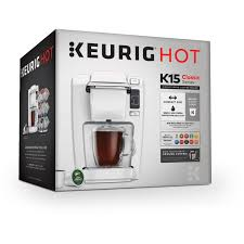 Keurig K15 Coffee Maker White New Packaging