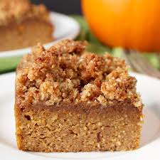 Pumpkin Cake Mix Bars by Paleo Pumpkin Coffee Cake Jay U0027s Baking Me Crazy