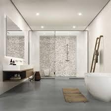 verkleidung der duschnische mit mosaikfliesen marazzi