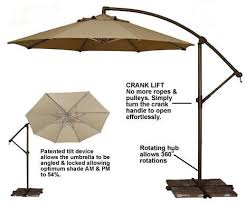 Offset Rectangular Patio Umbrellas by 16 Best Outdoor Umbrella Images On Pinterest Paths Beach And Life S