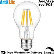 25w 40w 60w equal e27 antique edison style dimmable led light bulb