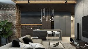 100 Brick Walls In Homes Design A Chic Modern Space Around A Accent Wall