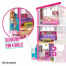 Mattel Barbie Dream House Dům Snů 4 Barbie Doll Dream House With Elevator