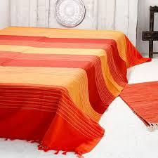 canape indien tissu indien artisanal jeté de canapé en coton par pankaj e boutique