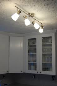 kitchen surprising kitchen track lighting lowes led ceiling