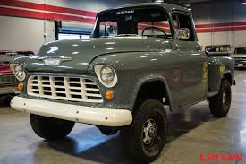 1955 Chevrolet 1/2-Ton Pickup   Crown Concepts Split Personality The Legacy Classic Trucks 1957 Napco Chevrolet Napco For Sale Petite 1955 Chevy Truck 4x4 Truckss 4x4 For 1956 Gmc 44 At Motoreum Atx Car Pictures 10 Vintage Pickups Under 12000 Drive 1959 Great Big Into The Woods With 4x4s Way They Used Apache Manx Carsfor Cversion Red And White Model 12ton Pickup Crown Concepts Street Dreams