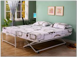 Endearing Trundle Bed Ikea Daybed With Pop Up Digihome Frame