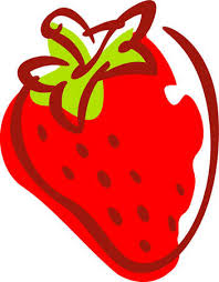 Cartoon strawberry clipart kid 4