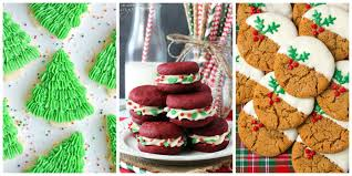 Christmas Tree Meringues Cookies by 54 Easy Christmas Cookies Best Recipes For Holiday Cookie Ideas