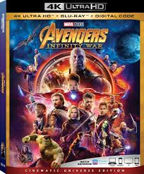 100 Blu Home Video Avengers Infinity War Marvel Cinematic Universe Wiki