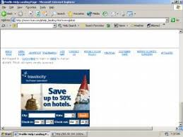 A Travelocity Ad Injected Into True By Searchingbooth