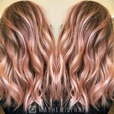 Dashing 3 D Coral Waves Hair Color Ideas For Shoulder Length