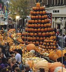 Pumpkin Festival Dayton Ohio by Visiting The Circleville Pumpkin Show In Circleville Ohio