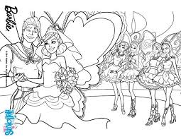 Barbie Wedding Coloring Pages 10 Zane And Graciellas