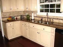 Kitchen Cabinets With Granite Countertops Antique White Kitchen