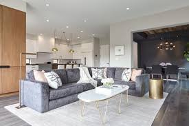 Grey Leather Sectional Living Room Ideas by 12 Living Room Ideas For A Grey Sectional Hgtvs Decorating